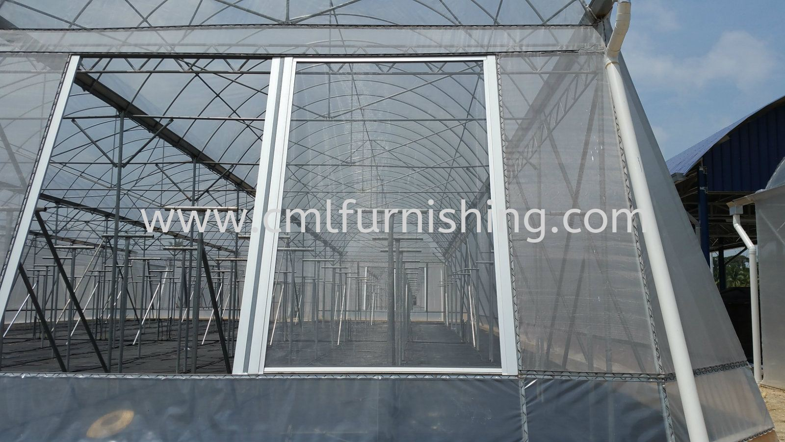 Roller Screen with Anti Wind System