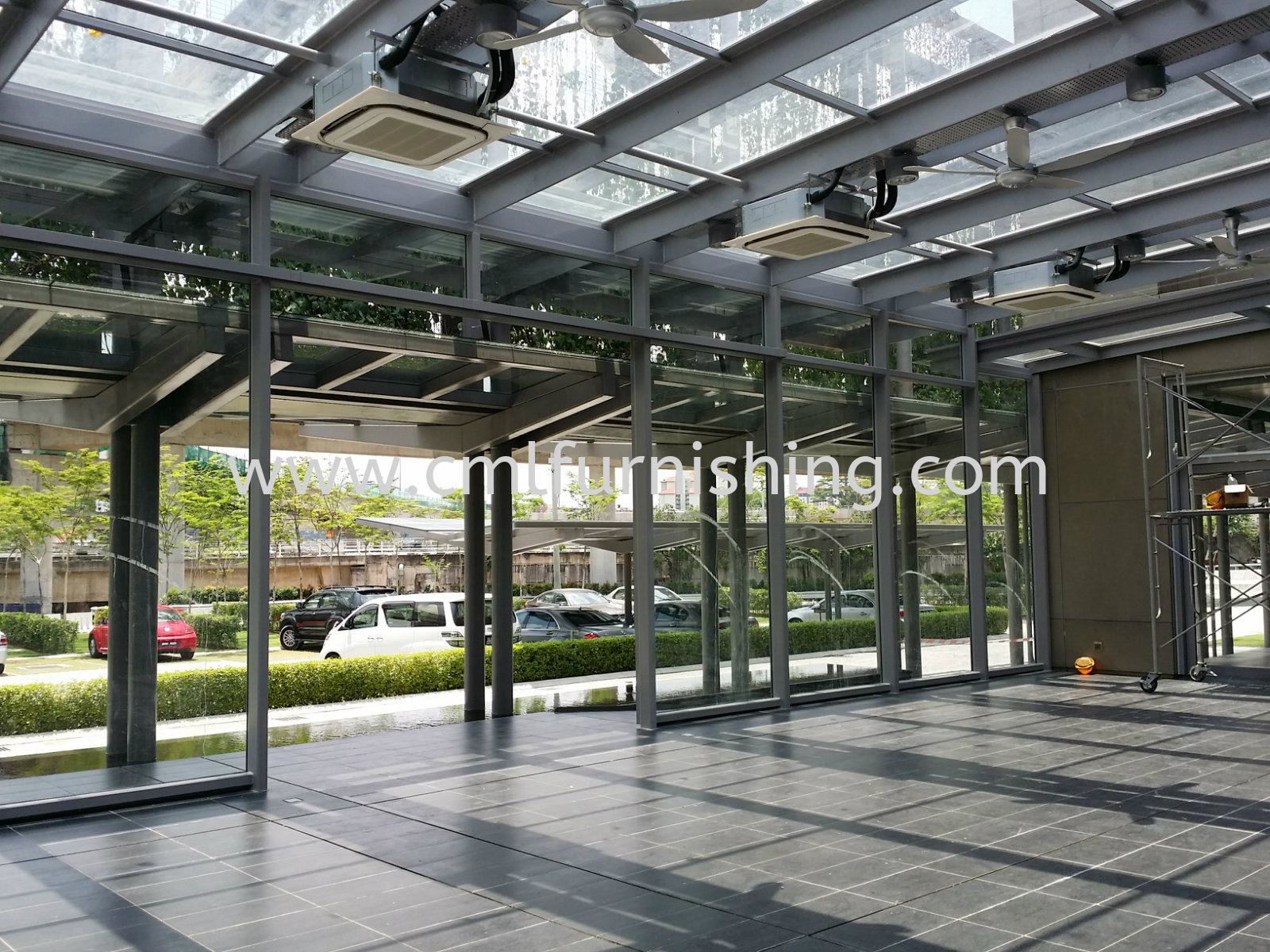 Heavy-Duty Roller Blinds System