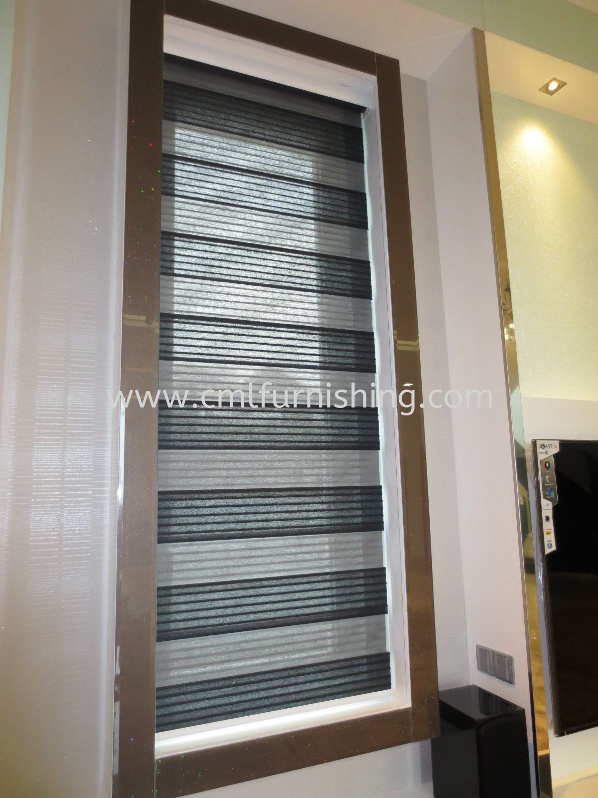 Motorized Silent Gliss Wave Track , Zibra Blinds , Sheer with Curtain , Bedhead  , Wall Panel
