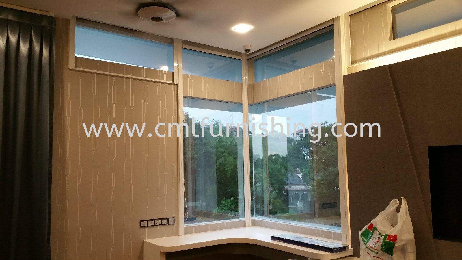 Wallpaper , Motorized Curtain , Wall Panel , S-Wave Vertical , Zibra , Motorized Roller