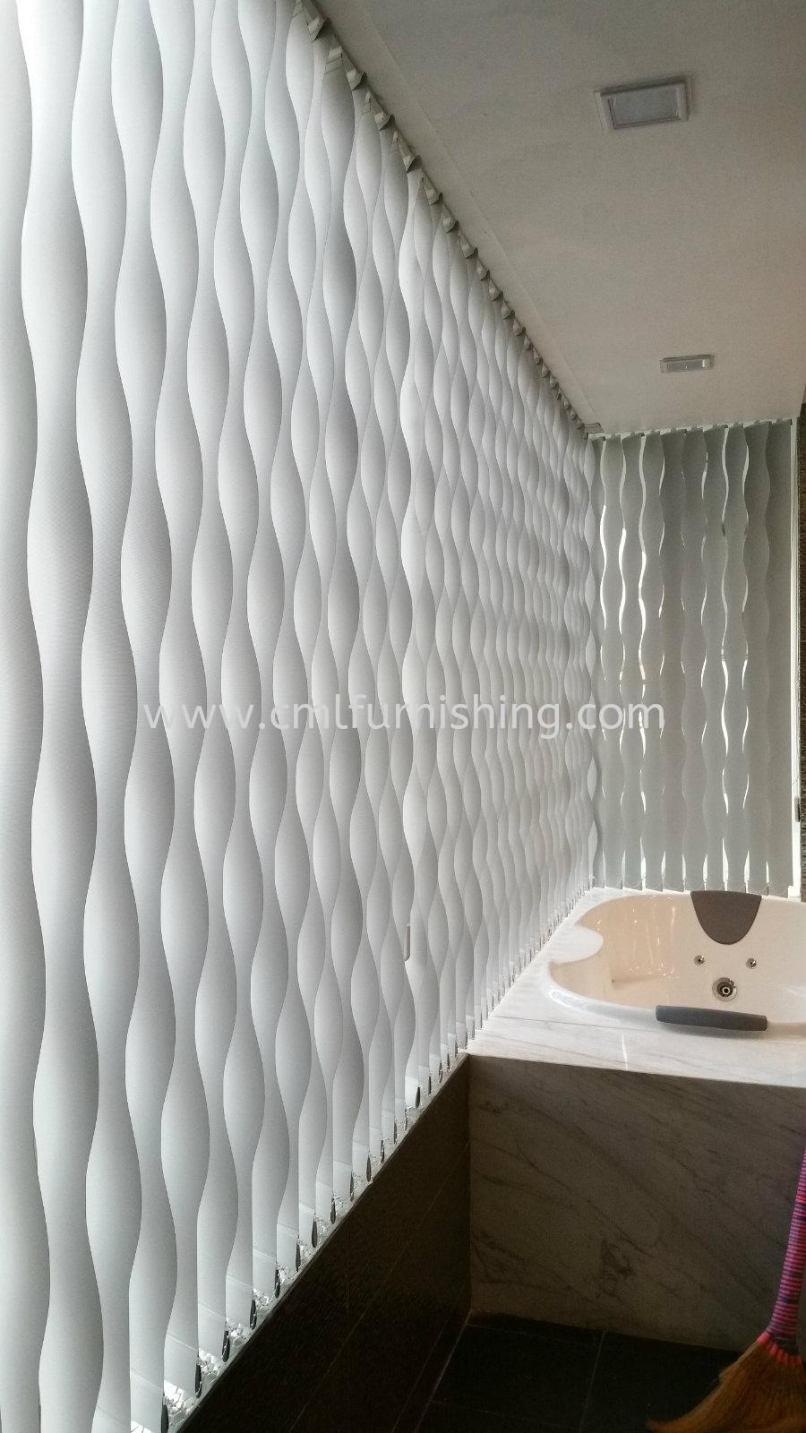 Wallpaper , Motorized Curtain , Wall Panel , S-Wave Vertical , Zibra , Motorized Roller