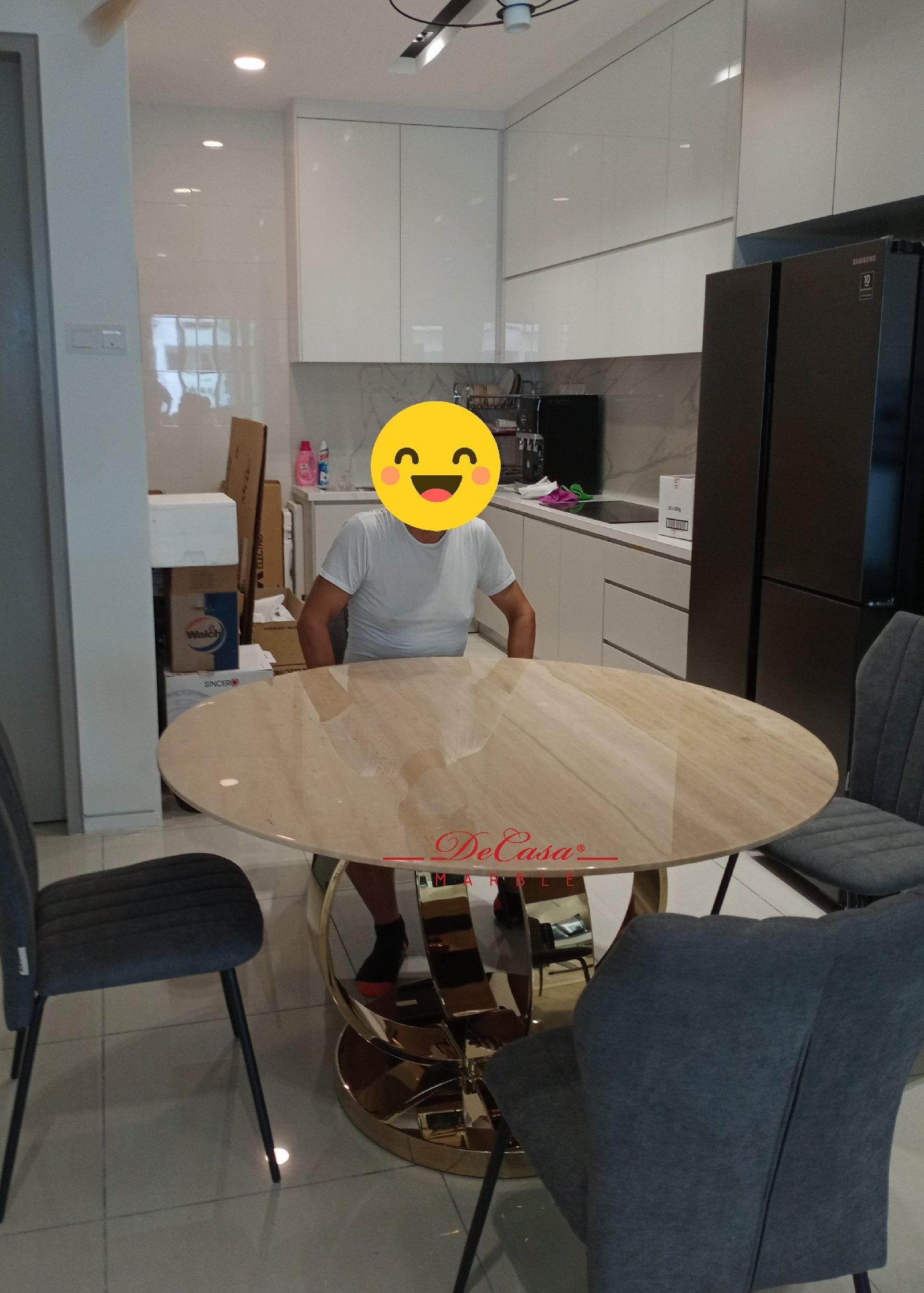 Majestic Dining Table   Romano Classico   6 Seaters