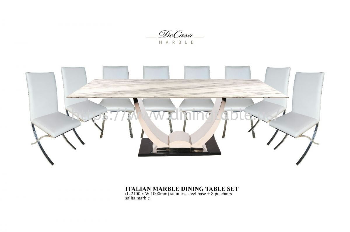 Dining Chairs With Marble Dining Table