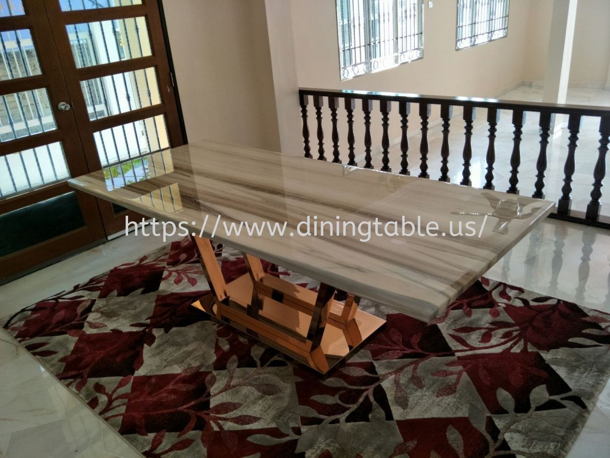 Grey Marble Dining Table Melbourne