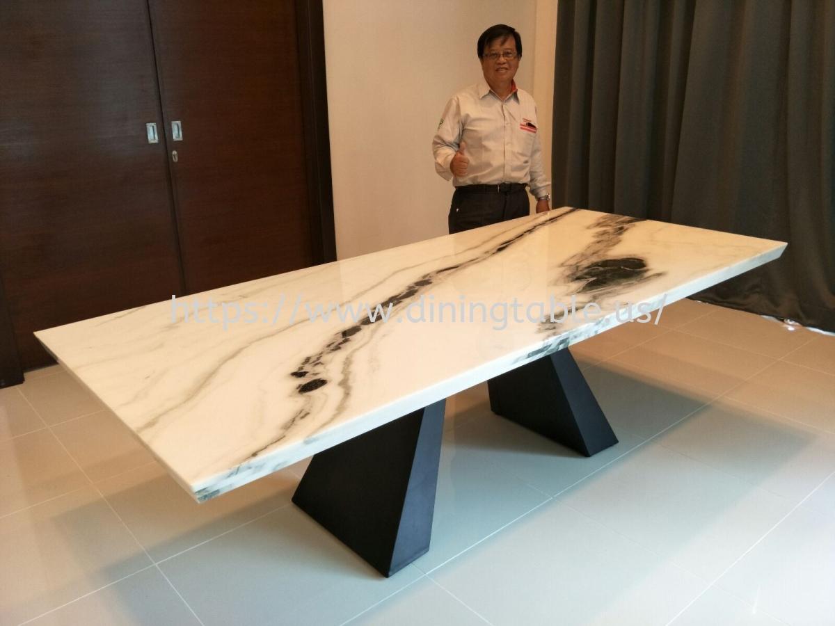White Marble From China - Panda White