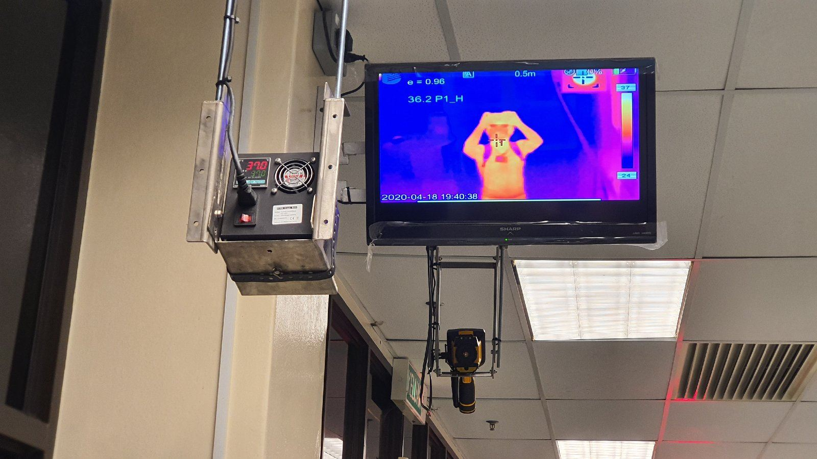 TE-W300H Thermal Imaging Camera supplied to Molnlycke