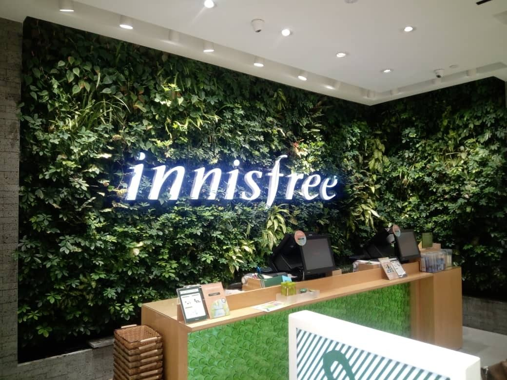 Vertical Garden_Innisfree__Aeon_tebrau_City