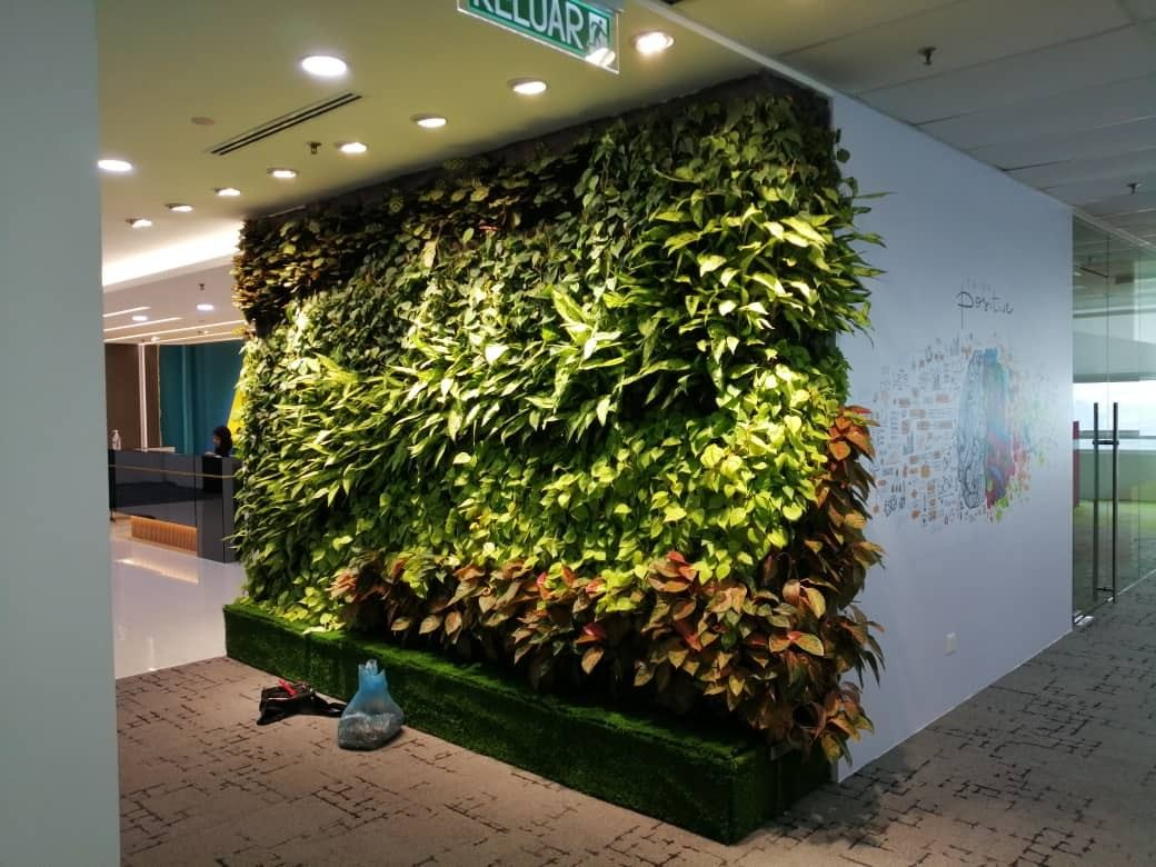 Vertical Garden_Tata_consultancy_Axiata Tower
