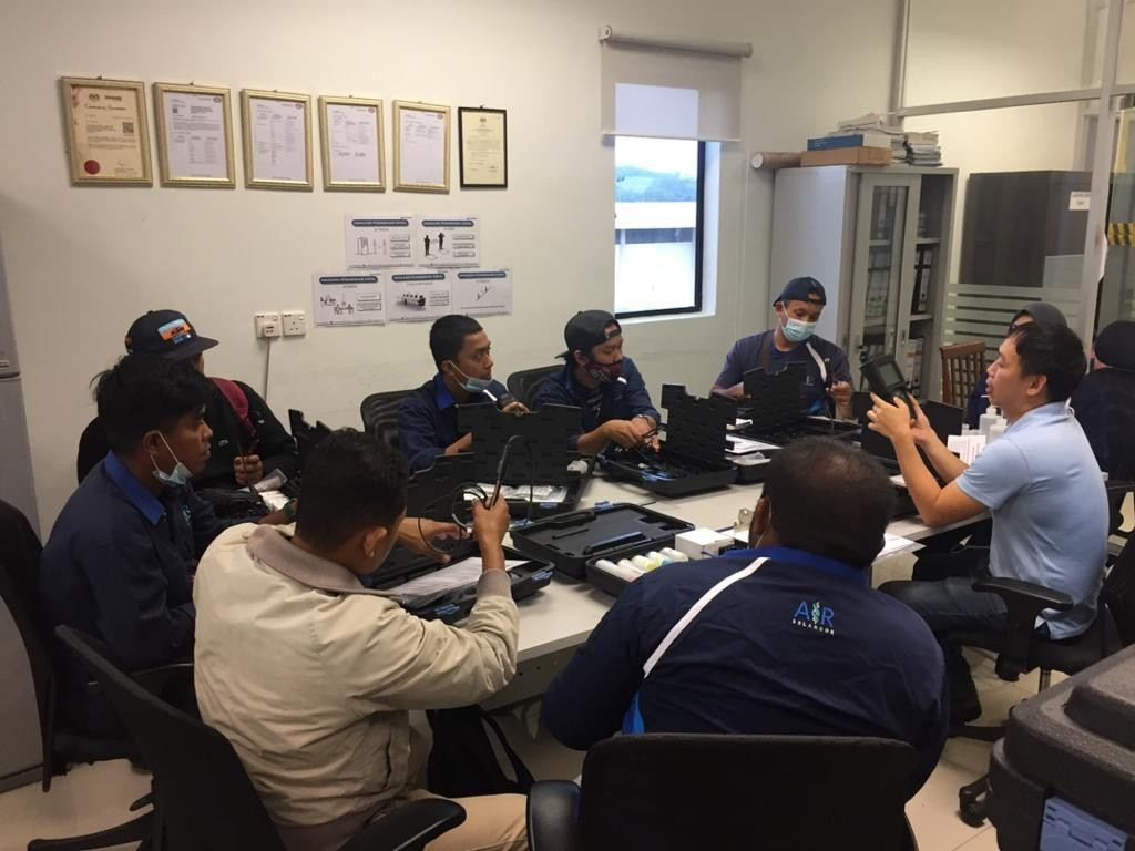 Product Training on Star A121 Portable pH Meter for Air Selangor