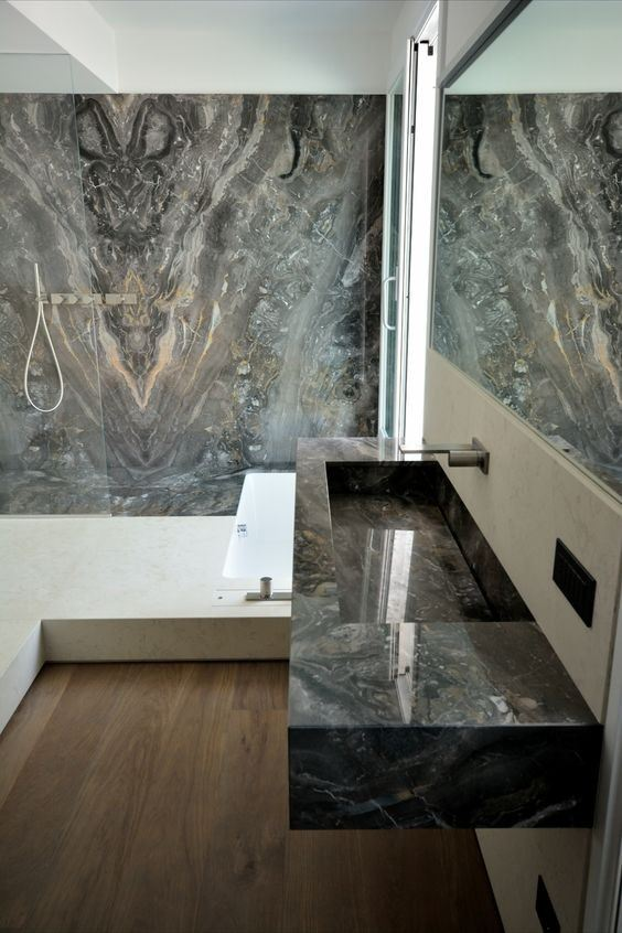 Orobico Feature Wall and sink