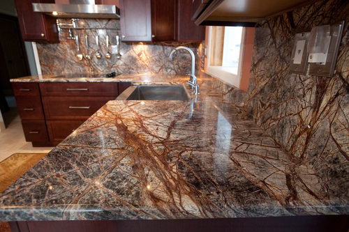 Forest Brown Countertop