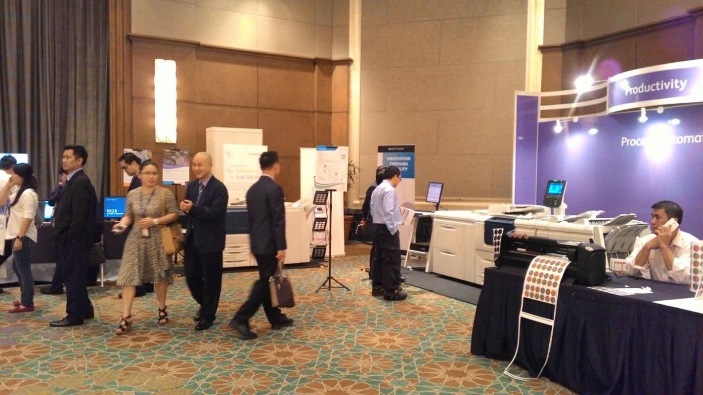 17 Nov 2015 Fuji Xerox Mandarin Oriental Roadshow Malaysia, Johor