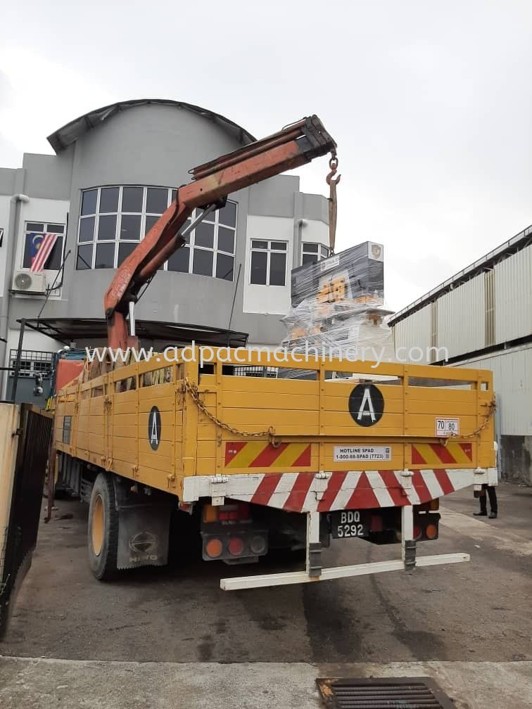 Moving Out New Steel-Worker To Banting, Selangor