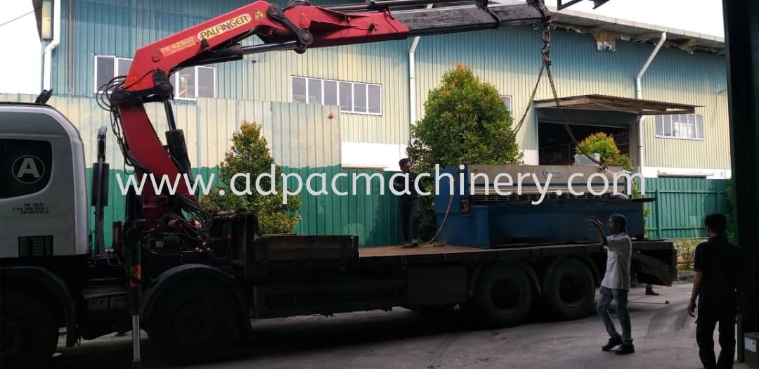 Moving Out Used Hydraulic Shearing Machine @ Selangor