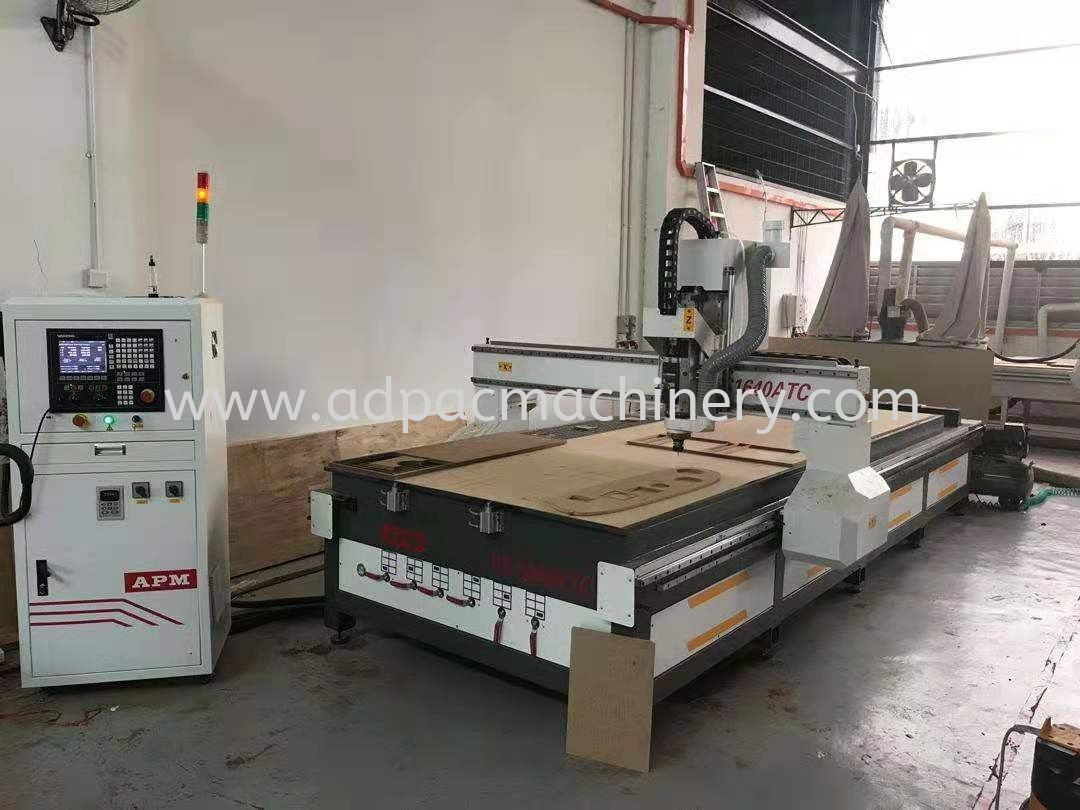 Arrival of New CNC Router with Automatic Tool Changer