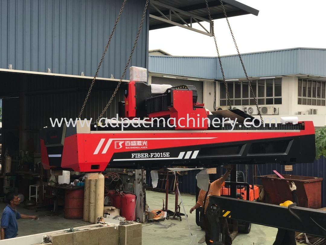 Moving In New Fiber Laser Cutting Machine In Klang Valley