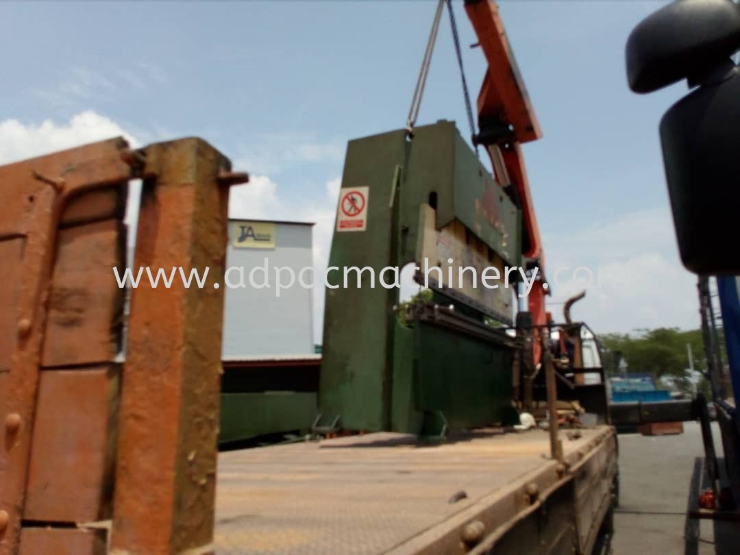 Moving Out Used ''Hydrabend'' Hydraulic Pressbrake