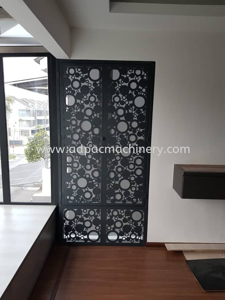 Nice Designs Cutting By APM Fiber Laser Cutting Machine