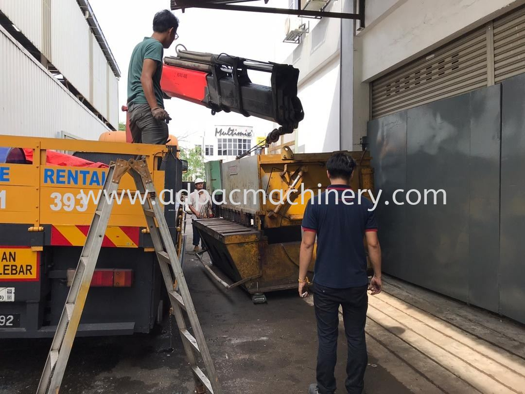 Arrival of Used Cutting Machine / Shearing Machine