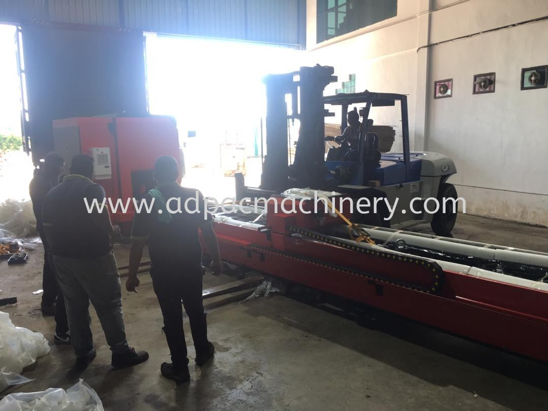 Installation of New Fiber Laser Cutting Machine