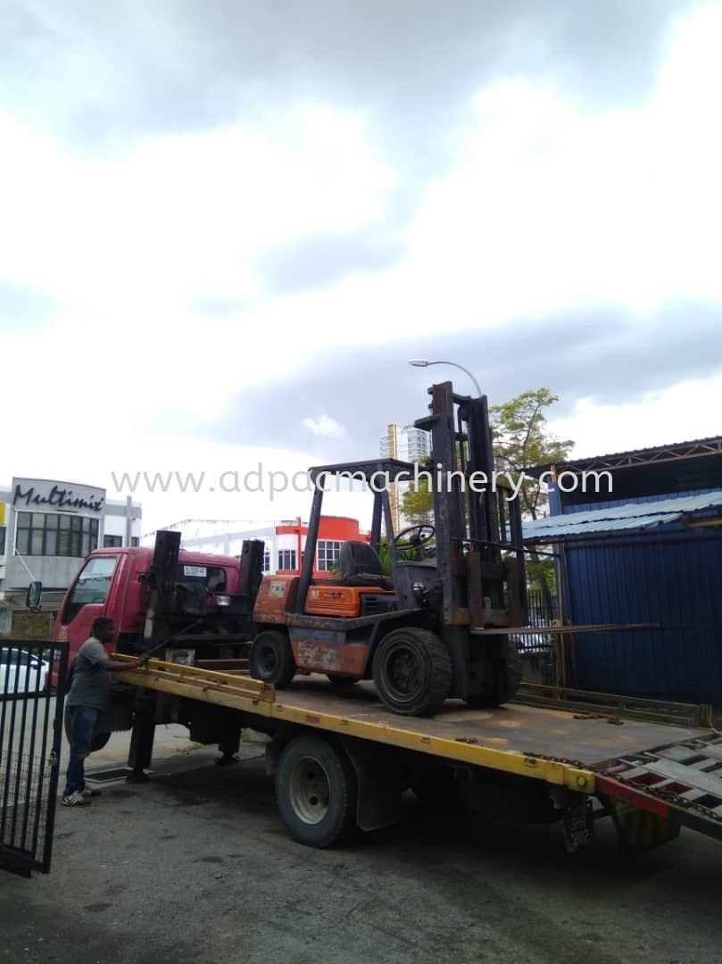Delivery Of Used Forklift