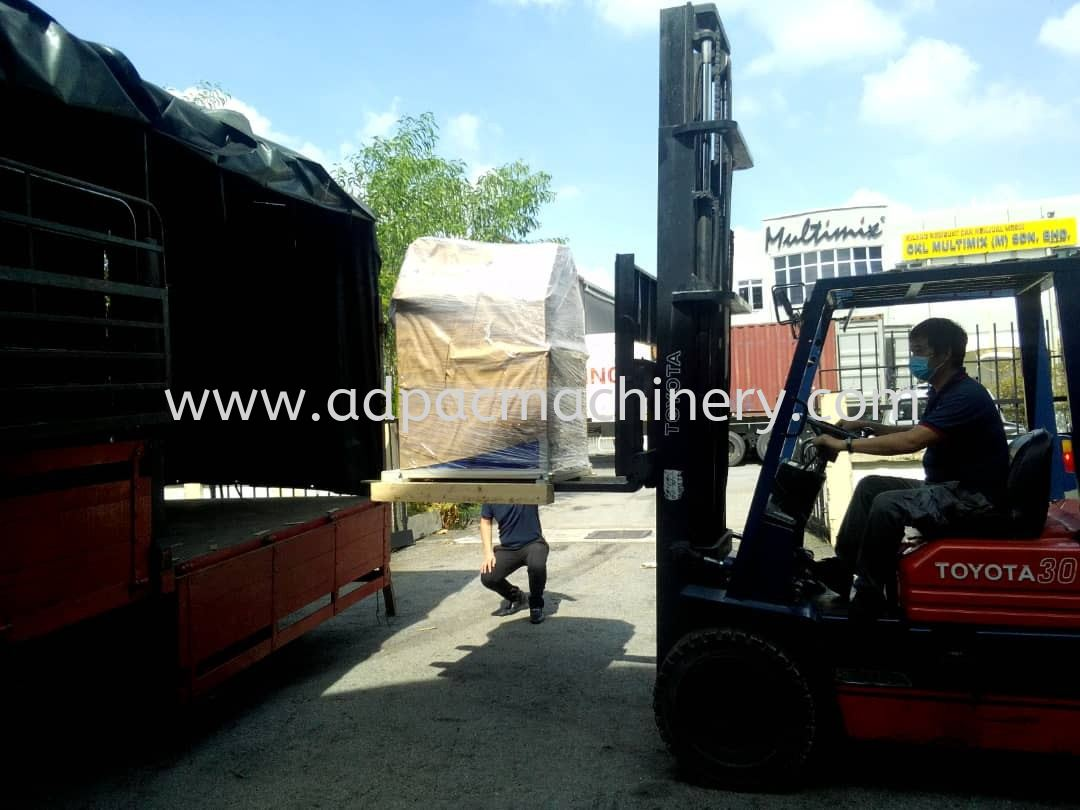 Delivery of New Section Rolling Machine