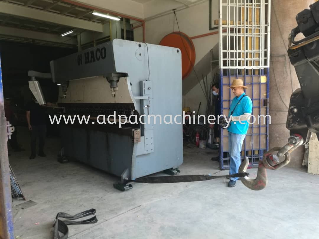 Used HACO Shearing/Cutting Machine was delivered