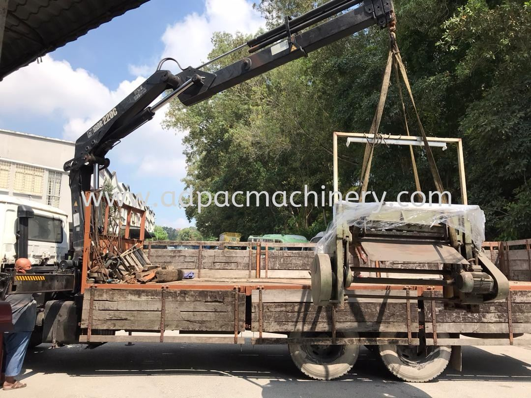 Delivery of Used Mechanical machine