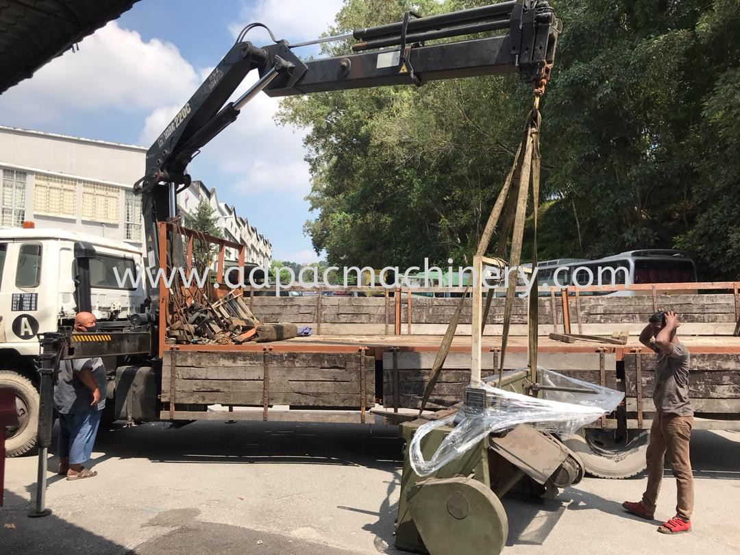 Delivery of Used Mechanical Shearing machine
