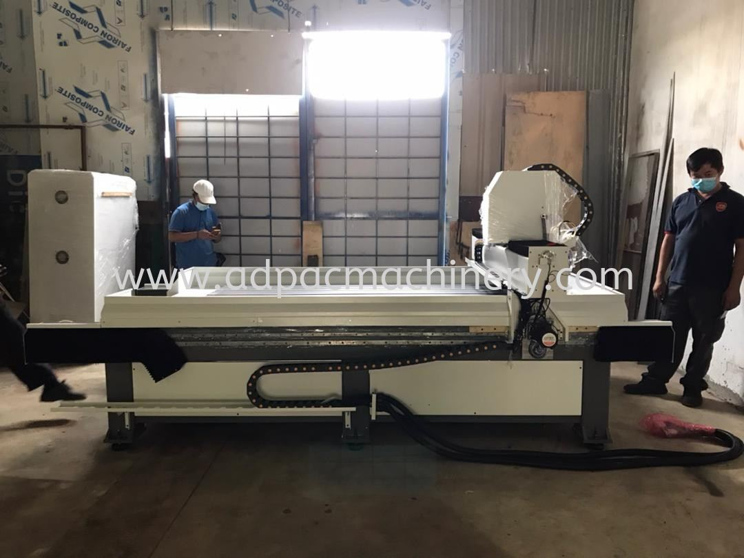 Delivery of New APM Stone CNC Router