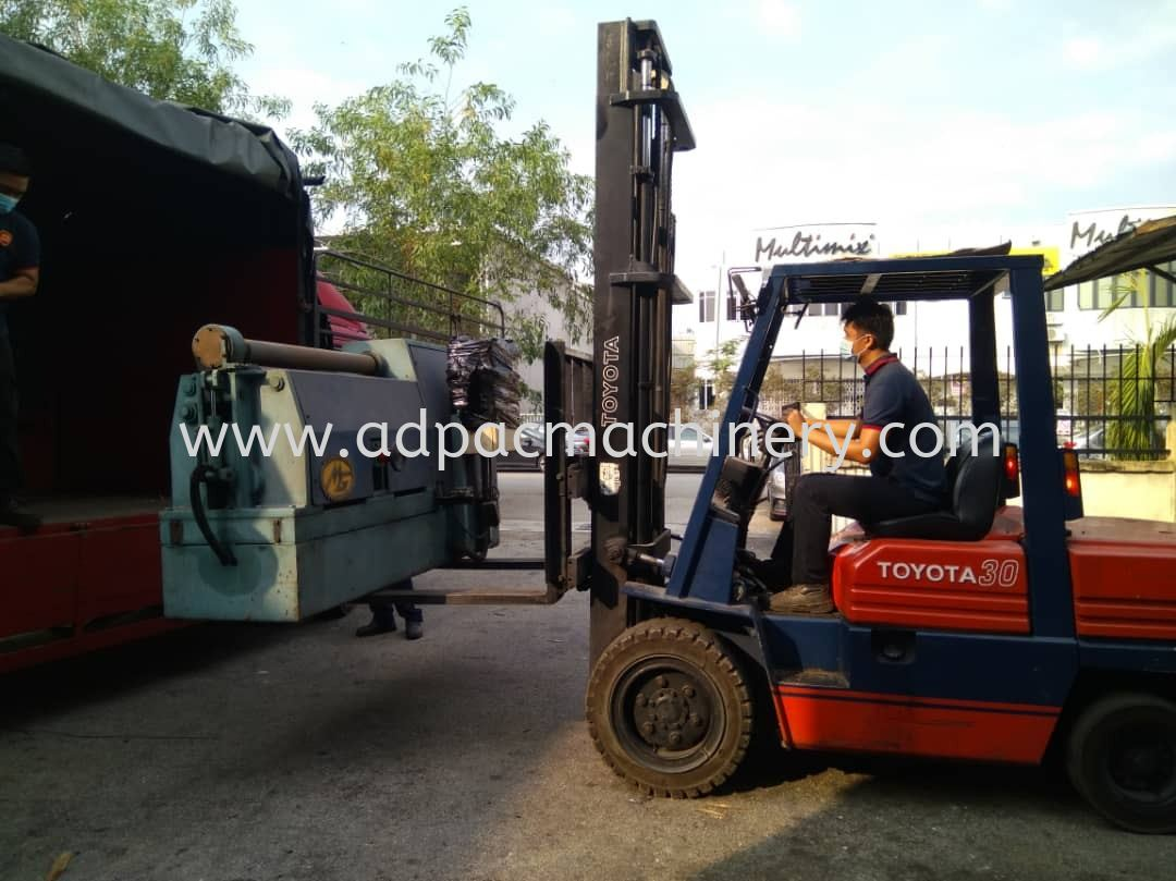 Arrival of Used Plate Rolling Machine