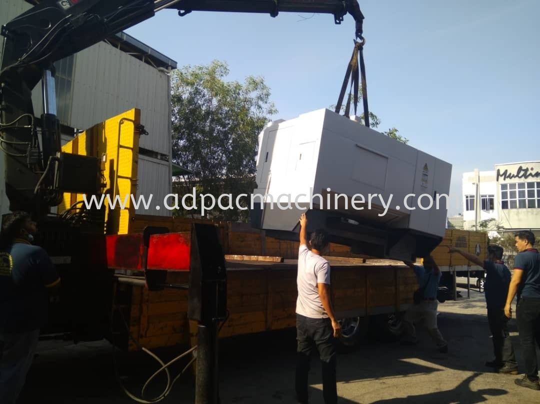 Delivery of New Lathe Machine