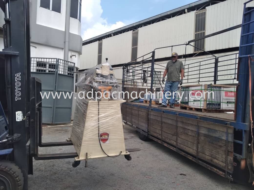 Used Hydraulic Iron-Woker / Steelworker was delivered