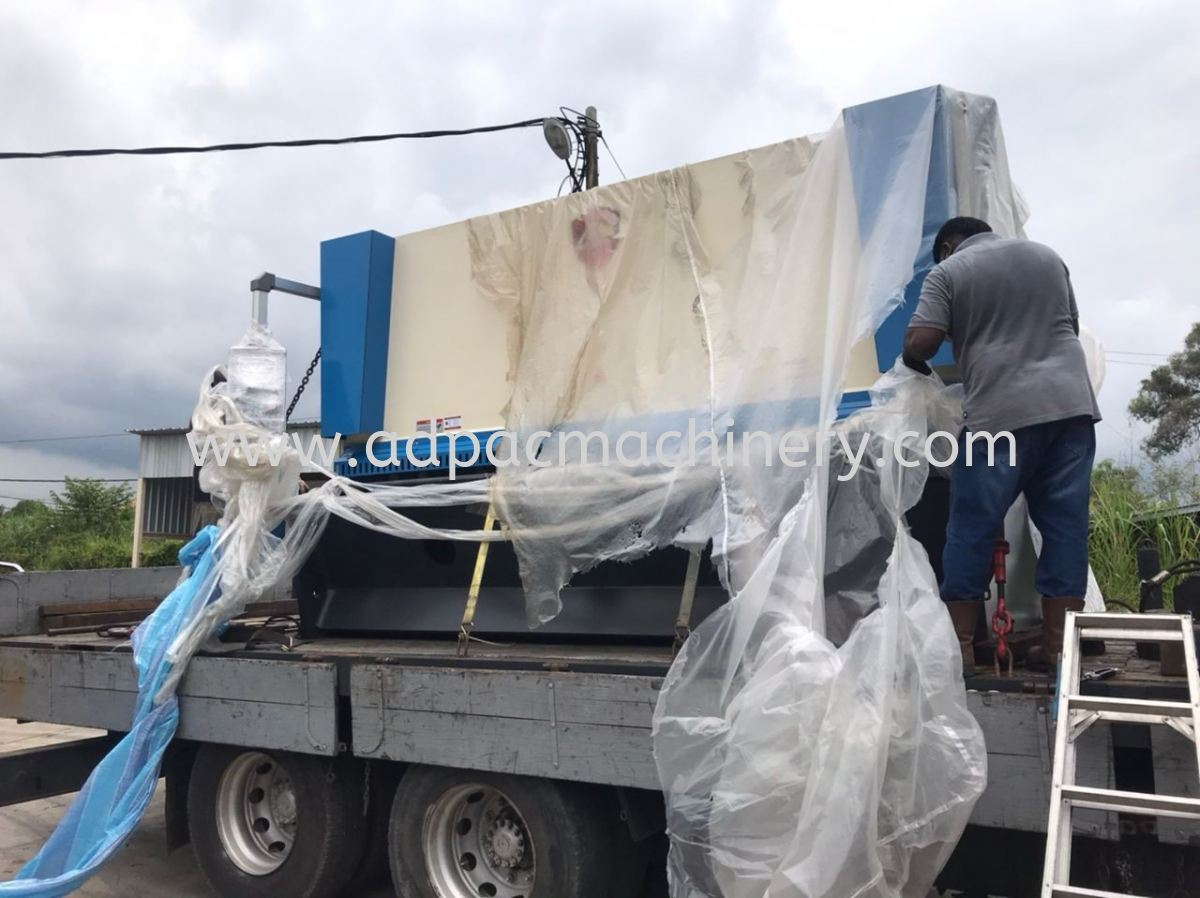 Delivery of New Shearing / Cutting Machine