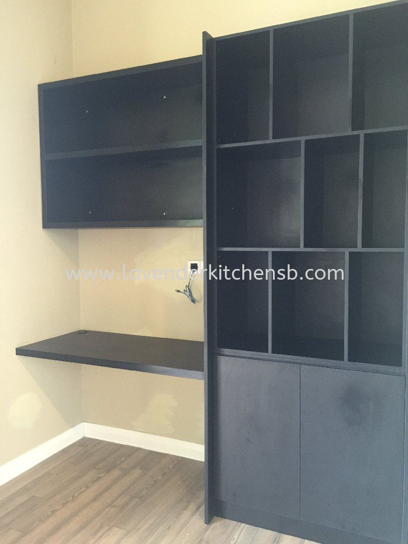 Display Cabinet & study table