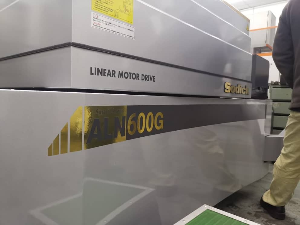New Sodick ALN600G was delivered to High Precision Part Marker in Melaka