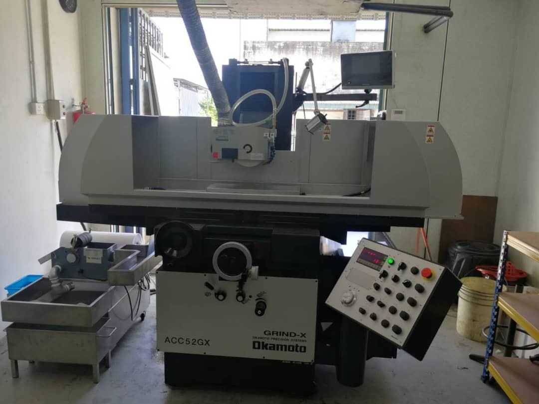 New Okamoto ACC52GX was delivered to precision parts maker in Shah Alam