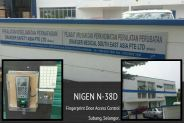 NIGEN N-38D Fingerprint Door Access From Subang User