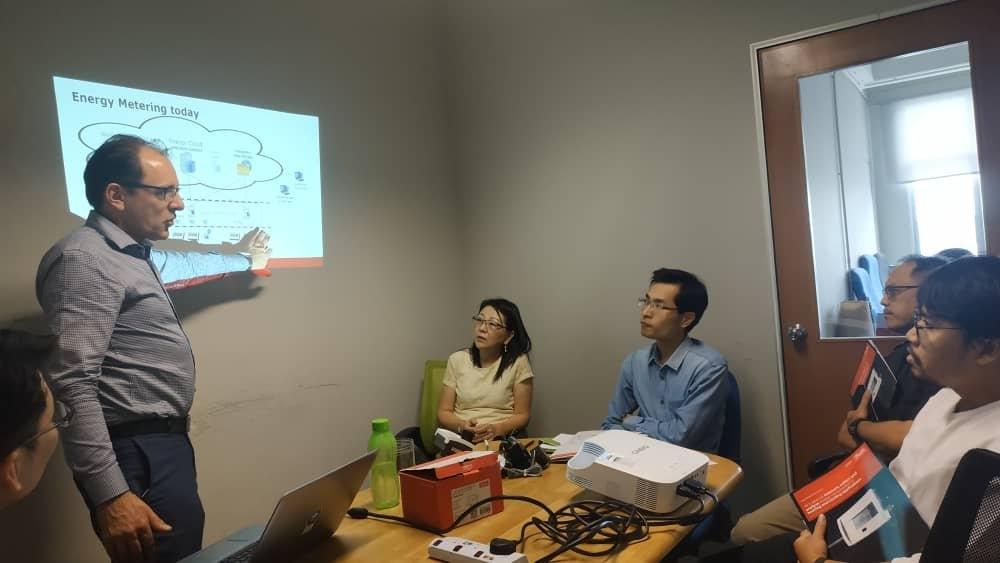 Danfoss Energy Meter Training for DLC Engineers Sdn Bhd