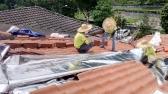 Install Aluminium Foil at Roof 1