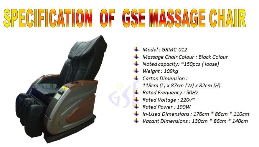 Massage Chair GRMC-012