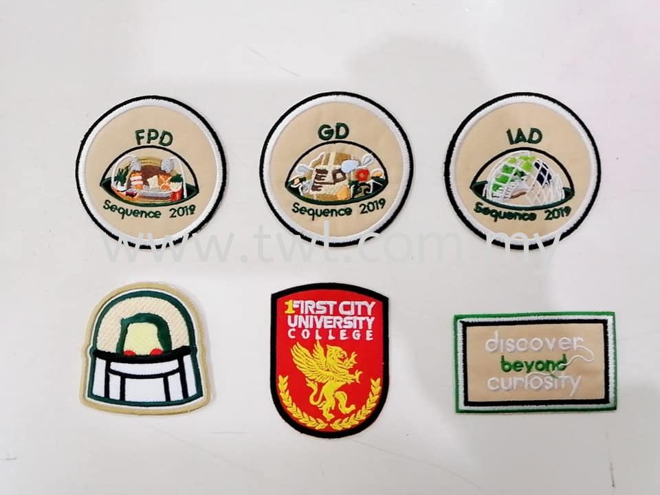 Badges Embroidery #Sulam#Embroidery#Patches#Badges