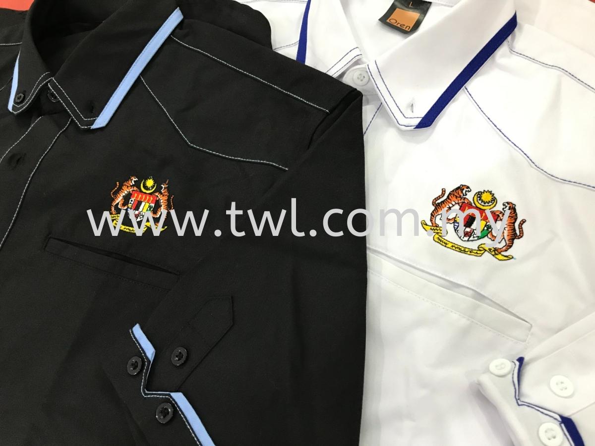 Jata Negara Uniform Embroidery