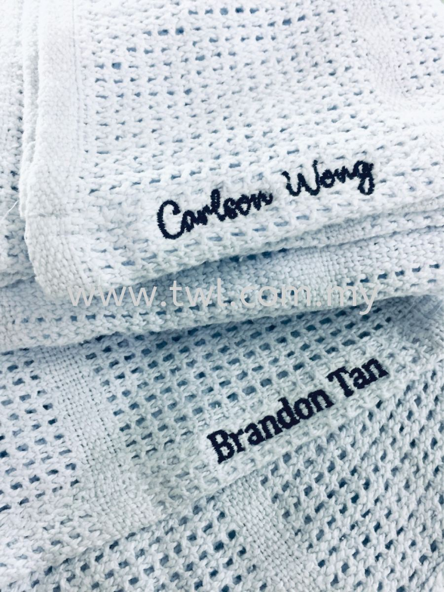 Handkerchief Embroidery Name
