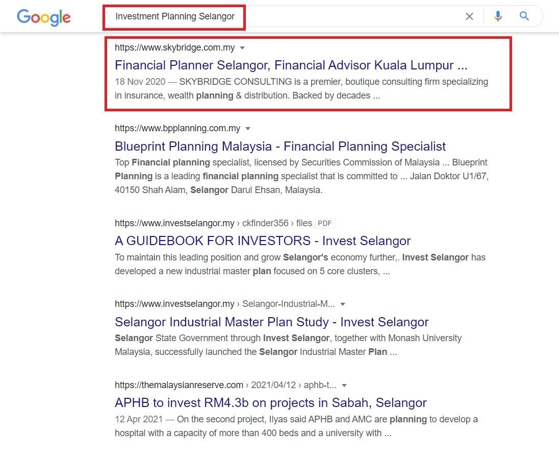 Effective Google SEO Proven Result