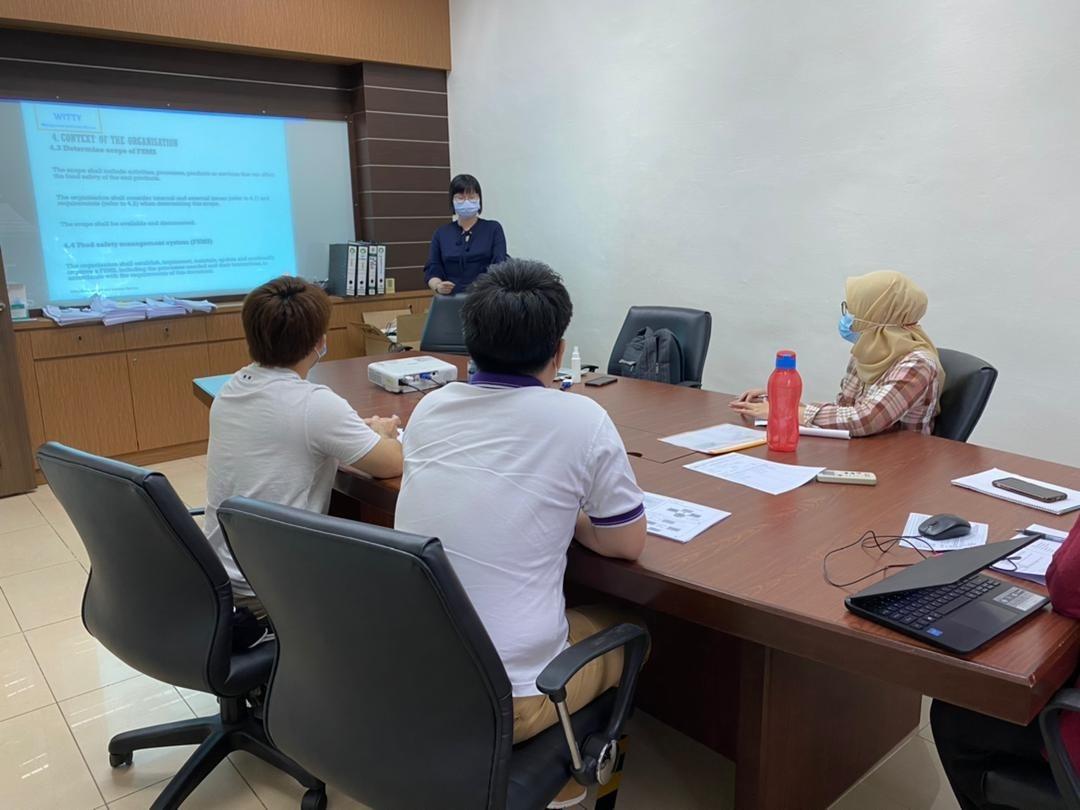 ISO 22000:2018 Awareness Training at Mee Wah Food Industries Sdn. Bhd.