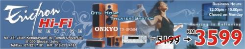 Hi-Fi, Karaoke & Theatre System