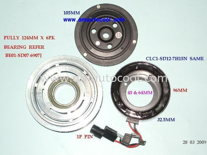 (CLC)   Proton Magnetic Clutch Magnetic Clutch Car Air Cond Parts Johor Bahru JB Malaysia Air-Cond Spare Parts Wholesales Johor, JB, 冷气零件批发 Testing Equipment | Am Autocool Electronic Enterprise