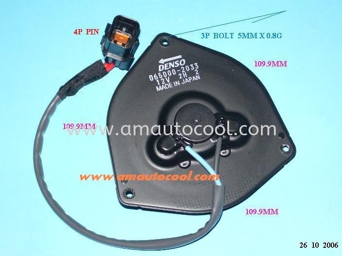 国产车冷凝器电风扇 冷凝器电风扇 汽车冷气零件   Air-Cond Spare Parts Wholesales Johor, JB, 冷气零件批发 Testing Equipment   Am Autocool Electronic Enterprise