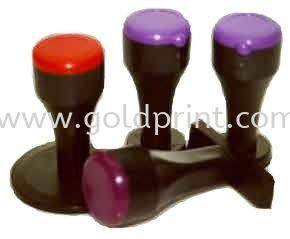 Rubber Stamp Handles(Plastic) Materials and Supplies Rubber Stamp / Self-Inked Stamp Singapore Supply Suppliers   Goldprint Enterprise Pte Ltd